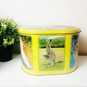 1980s Biscuits Tin Australian Wild Life